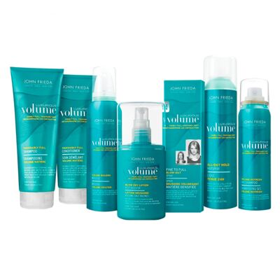 Imagem 2 do produto John Frieda Luxurious Volume Building Mousse - Finalizador - 212g