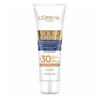 Imagem 1 do produto Solar Expertise Facial Invisilight FPS 30 L'oréal Paris - Protetor Solar - 50g