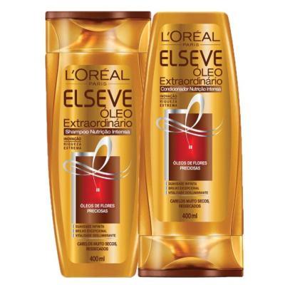 Imagem 1 do produto Kit Shampoo + Condicionador L'Oréal Paris Elseve Óleo Extraordinário Nutrição Intensa - Kit