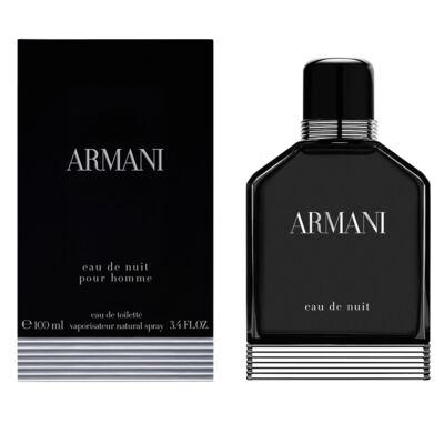 Imagem 2 do produto Armani Eau de Nuit Giorgio Armani - Perfume Masculino - Eau de Toilette - 100ml