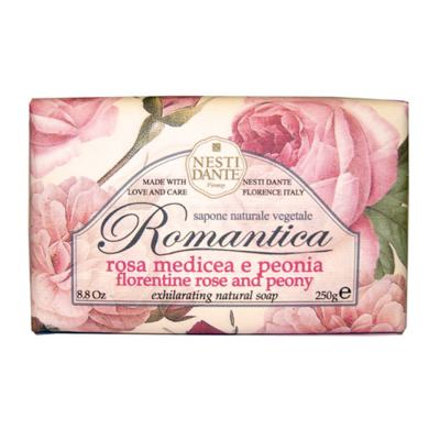 Romântica Rosas Florentinas com Essências de Peônia Nesti Dante - Sabonete Perfumado em Barra - 250g