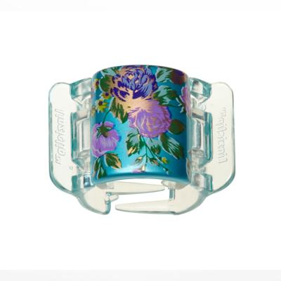 Prendedor de Cabelos Linziclip Bloom Flower Pearlised - Sea Blue Bloom