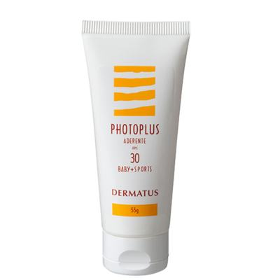 Imagem 1 do produto Photoplus Aderente FPS30 Baby + Sports Dermatus - Protetor Solar - 55g