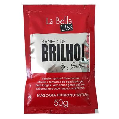 La Bella Liss Banho De Brilho - Máscara Reconstrutora - 50g