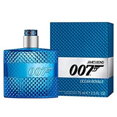 Imagem 2 do produto Ocean Royale James Bond - Masculino - Eau de Toilette - Perfume + Jogo de Cartas - Kit