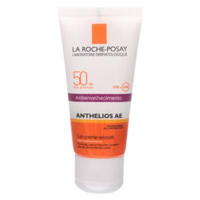 Imagem 1 do produto Anthelios Ae Gel-Creme Velouté Fps 50 La Roche-Posay - Protetor Solar Facial - 50g