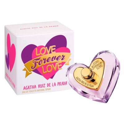 Imagem 2 do produto Love Forever Love Agatha Ruiz de La Prada - Perfume Feminino - Eau de Toilette - 30ml