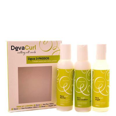 Imagem 2 do produto Kit Higienizador Condicionante Deva Curl Deva Curl 3-Passos - kit