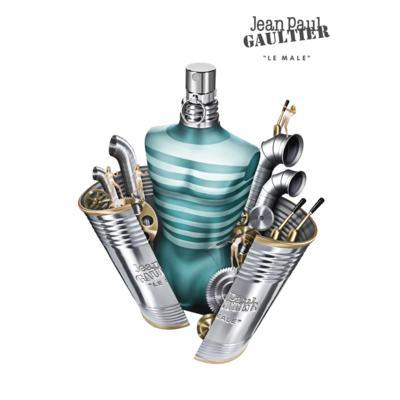 Imagem 8 do produto Le Male By Jean Paul Gaultier Eau De Toilette Masculino - 125 ml