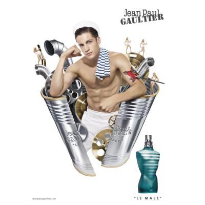 Imagem 9 do produto Le Male By Jean Paul Gaultier Eau De Toilette Masculino - 125 ml