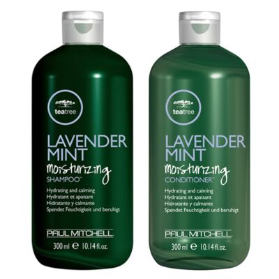 Kit Shampoo + Condicionador Paul Mitchell Tea Tree Lavender Mint Moisturizing - Kit