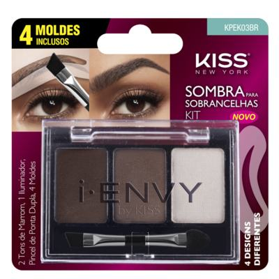 I-Envy By Kiss Kit Sombra de Sobrancelha First Kiss - Kit