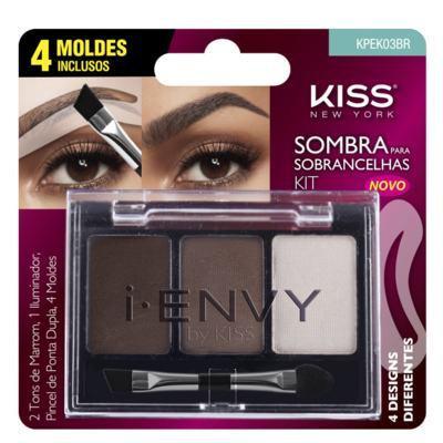 Imagem 1 do produto I-Envy By Kiss Kit Sombra de Sobrancelha First Kiss - Kit