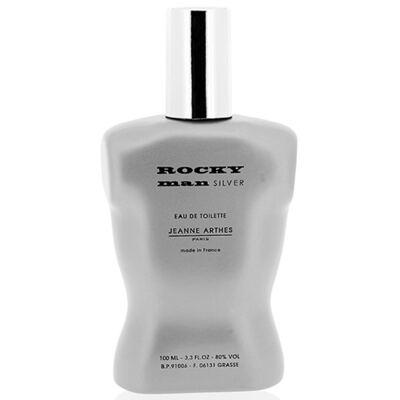 Imagem 1 do produto Rocky Man Silver Jeanne Arthes - Perfume Masculino - Eau de Toilette - 100ml