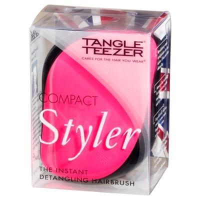 Imagem 4 do produto Compact Style Tangle Teezer - Escova para os Cabelos - Black-Pink