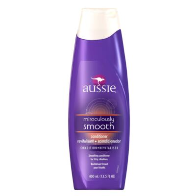 Imagem 1 do produto Aussie Miraculously Smooth - Condicionador Anti Frizz - 400ml