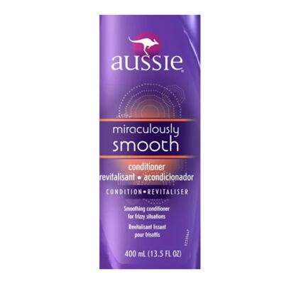 Imagem 2 do produto Aussie Miraculously Smooth - Condicionador Anti Frizz - 400ml