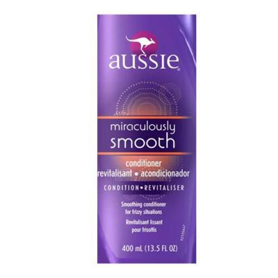 Imagem 2 do produto Aussie Miraculously Smooth - Condicionador Anti Frizz - 400ml