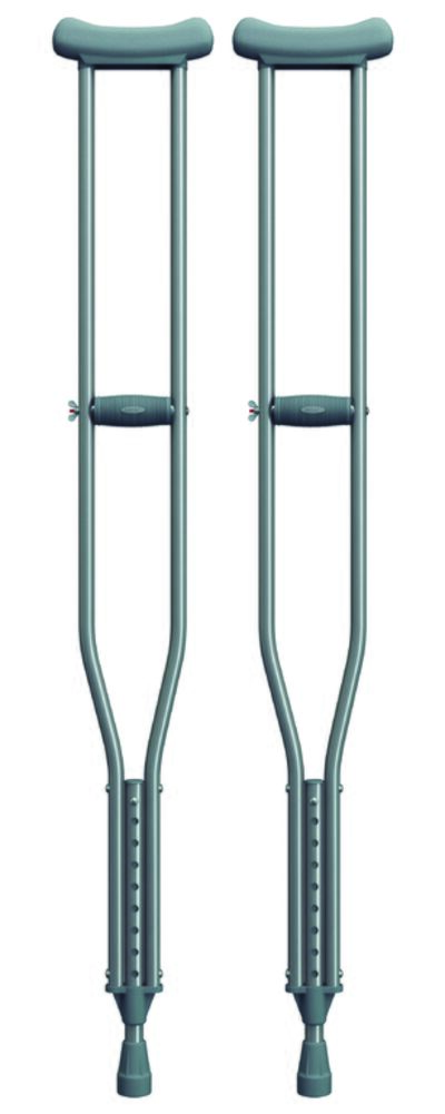 Imagem 1 do produto MULETA AXILAR ALUMINIO BC1509 MERCUR - Grande