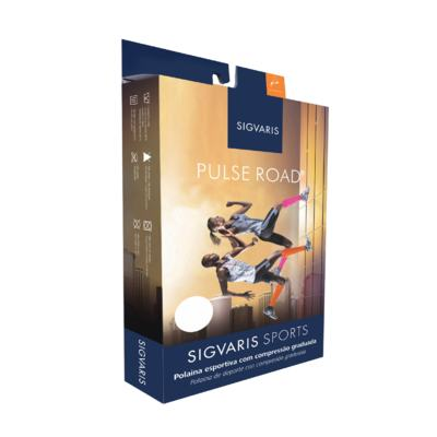 Imagem 2 do produto Polaina Esportiva Pulse Road Sigvaris - ROSA M2