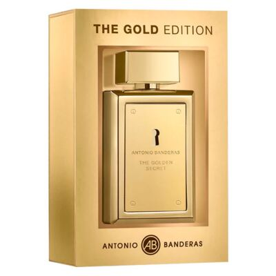 The Golden Secret Edição Limitada Antonio Banderas Perfume Masculino Eau de Toilette - 100ml