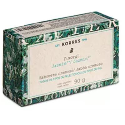 Imagem 1 do produto Sabonete Cremoso Korres - Jasmim - 90g