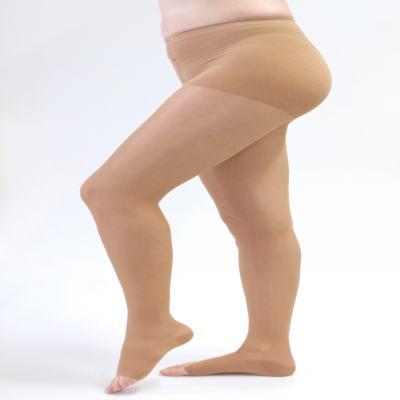 Meia Calça 20-30 mmHg Sheer & Soft Medi - NATURAL IV PONTEIRA ABERTA