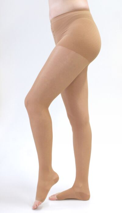 Imagem 1 do produto Meia Calça 20-30 mmHg Sheer & Soft Medi - NATURAL IV PONTEIRA ABERTA
