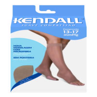 Imagem 1 do produto MEIA PANTURRILHA 13-17 SUAVE KENDALL - MEL PONTEIRA ABERTA P