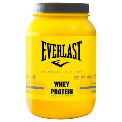 Whey Protein Isolado 900g - Everlast - Whey Protein Isolado 900g - Everlast - Baunilha
