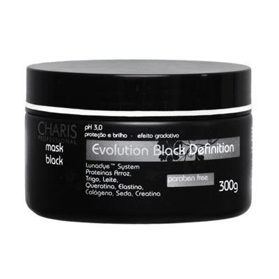 Charis Evolution Black Definition Mask Black - Máscara Capilar - 250ml