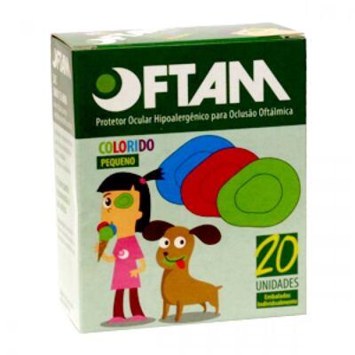 Imagem 2 do produto PROTETOR OCULAR OFTAM COLORIDO AMP - Pequeno