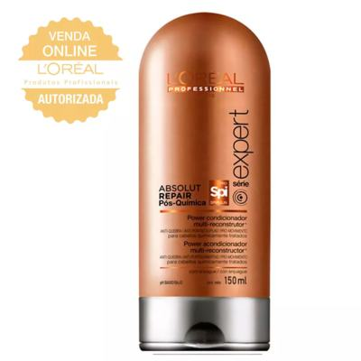 Imagem 2 do produto L'Oréal Professionnel Absolut Repair Pós Química Kit- Shampoo + Condicionador - Kit