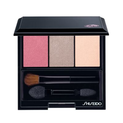 Luminizing Satin Eye Color Trio Shiseido - Paleta de Sombras - RD711 - Pink Sands