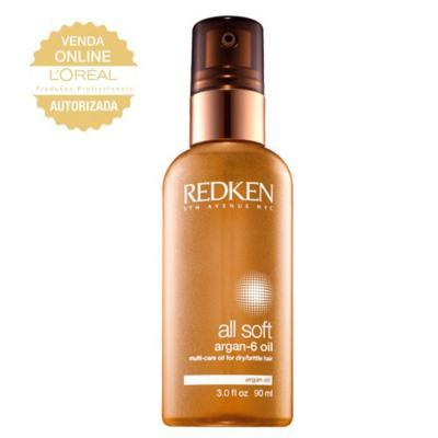 Redken Óleo All Soft Argan 6 - Tratamento - 90ml