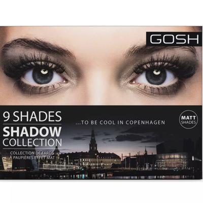 Imagem 4 do produto Paleta de Sombras Gosh Copenhagen - 9 Shades - To Be Cool In Copenhagen