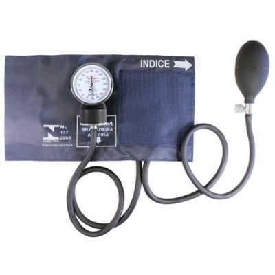 Imagem 5 do produto Kit Esteto Cardiológico Preto com Aparelho de Pressão Azul Premium