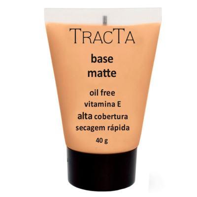 Base Facial Matte Tracta Alta Cobertura - 04C