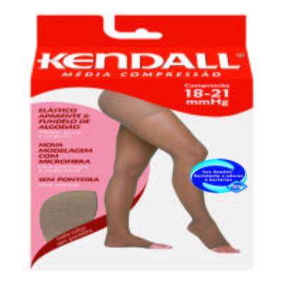 Imagem 1 do produto Meia Calça 18-21 mmHg Média Kendall - MEL PONTEIRA ABERTA G