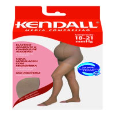 Meia Calça para Gestante 18-21 mmHg Média Kendall - MEL PONTEIRA ABERTA M