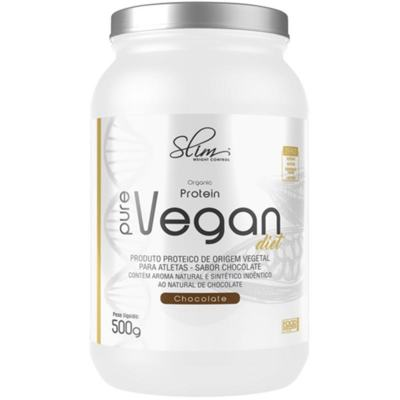 PROTEIN PURE VEGAN 500GR - SLIM - CHOCOLATE -