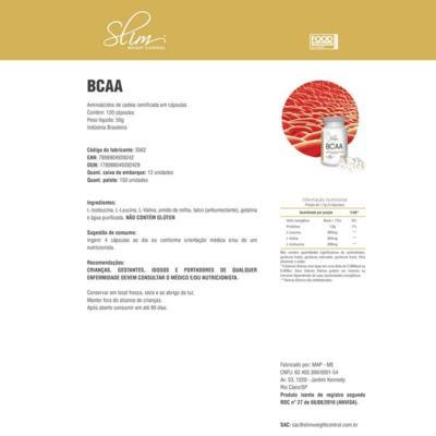 Imagem 2 do produto BCAA 60 CAPS - SLIM -