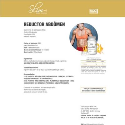 Imagem 2 do produto Kit Slim Shake Diet Baunilha 300g + Reductor Abdômen 60 Caps + Colágeno 100 Caps - Slim -
