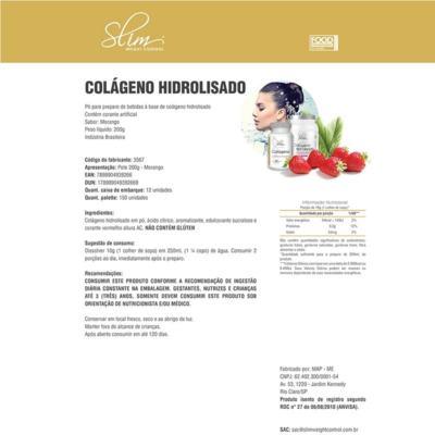 Imagem 3 do produto Kit Slim Shake Diet Baunilha 300g + Reductor Abdômen 60 Caps + Colágeno 100 Caps - Slim -