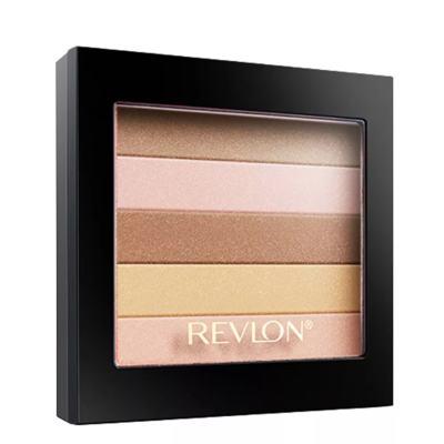 Imagem 3 do produto Highlighting Palette Revlon - Blush/Sombra - 010 - Peach Glow-Matte