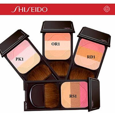 Imagem 3 do produto Face Color Enhancing Trio Shiseido - Blush - RS1