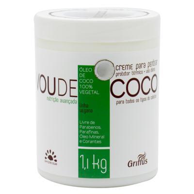 Griffus Vou de Coco - Creme para Pentear - 1,1kg