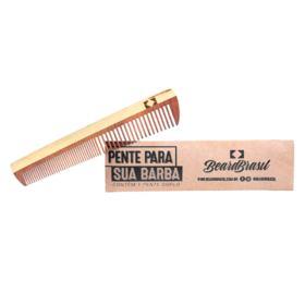 Pente de Barba Beard Brasil - Duplo - 1 Un