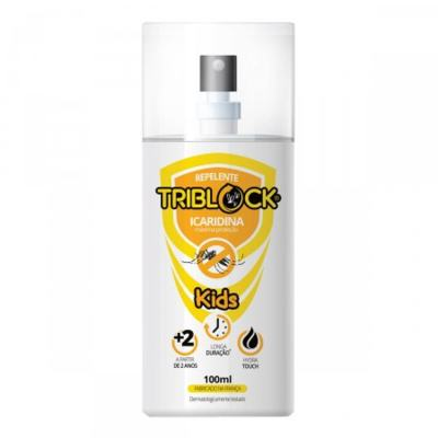 Imagem 1 do produto Repelente Triblock Kids Spray 100ml