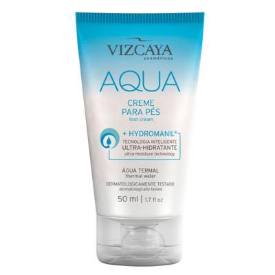 Hidratante para os Pés Vizcaya - Aqua - 50ml